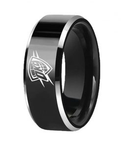 Oklahoma City Thunder Tungsten Rings DIY