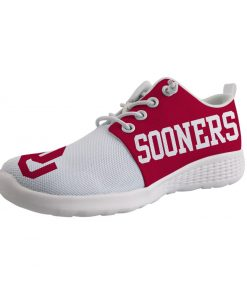 Oklahoma Sooners Customize Low Top Sneakers College Students