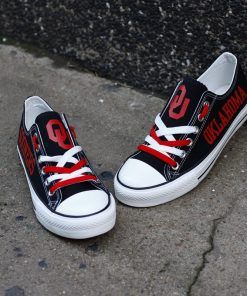 Oklahoma Sooners Limited Low Top Canvas Sneakers