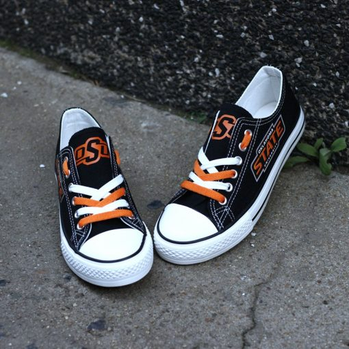 Oklahoma State Cowboys Limited Low Top Canvas Shoes Sport