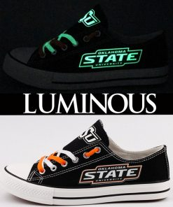 Oklahoma State Cowboys Limited Luminous Low Top Canvas Shoes Sport