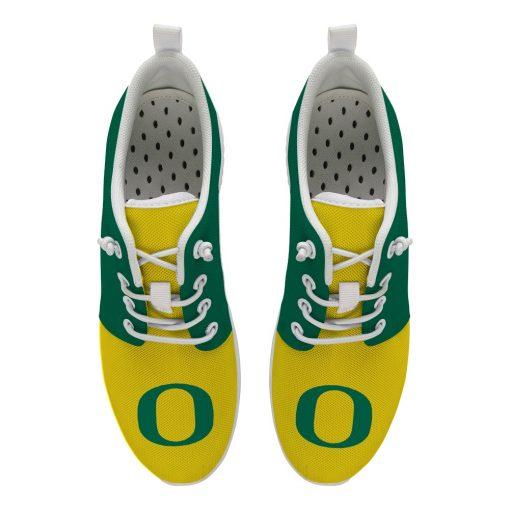 Oregon Ducks Customize Low Top Sneakers College Students