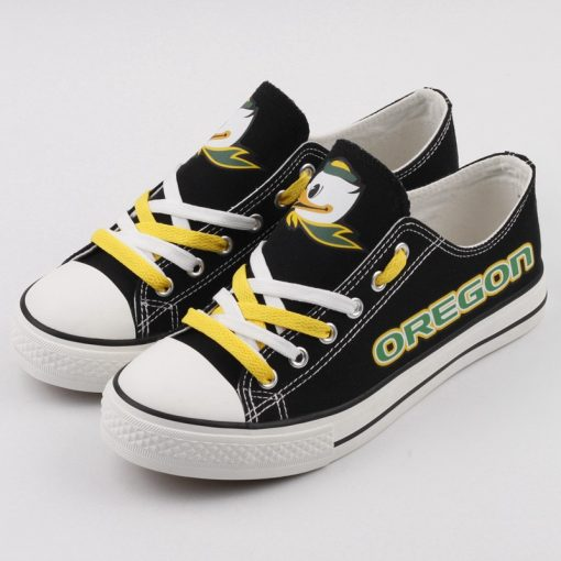 Oregon Ducks Limited Low Top Canvas Sneakers
