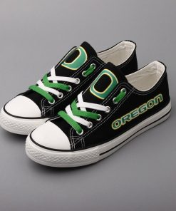 Oregon Ducks Limited Low Top Canvas Shoes Sport