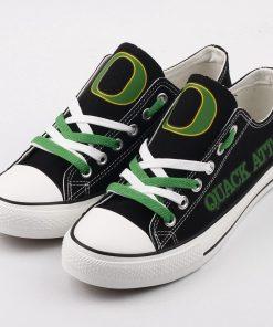Oregon Ducks Limited Print Low Top Canvas Shoes Sport