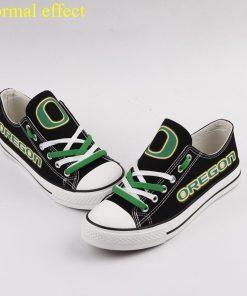 Oregon Ducks Limited Luminous Low Top Canvas Sneakers