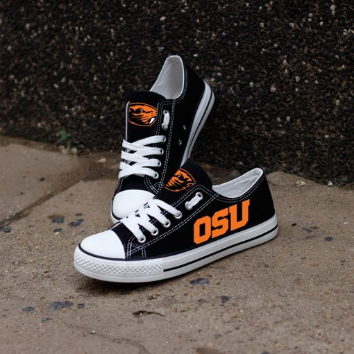 Oregon State Beavers Limited Low Top Canvas Sneakers