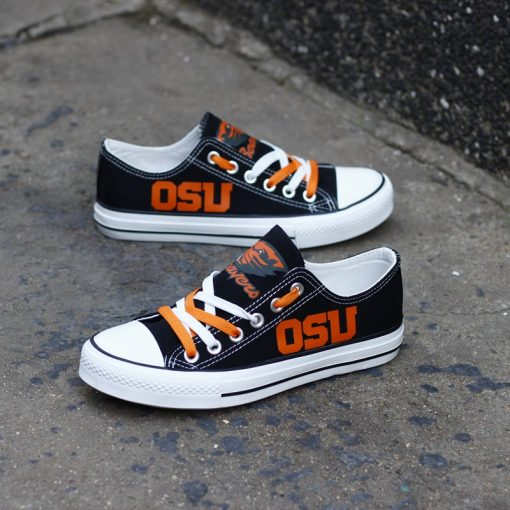 Oregon State Beavers Limited Low Top Canvas Shoes Sport