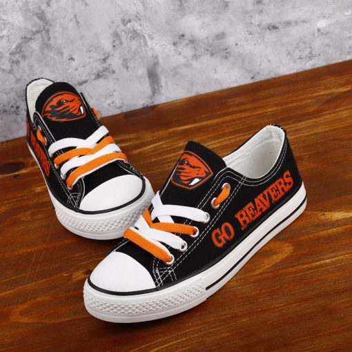 Oregon State Beavers Limited Fans Low Top Canvas Shoes Sport