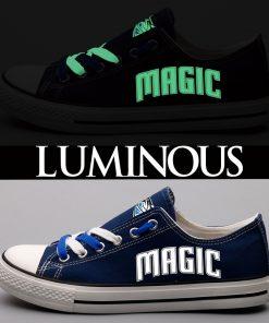 Orlando Magic Limited Luminous Low Top Canvas Shoes Sport