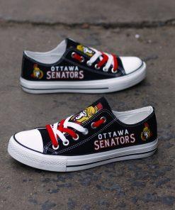 Ottawa Senators Limited Low Top Canvas Sneakers