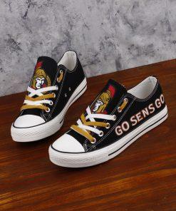 Ottawa Senators Limited Low Top Canvas Shoes Sport