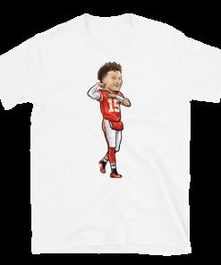 Patrick Mahomes Kansas City Chief Cartoon T Shirt