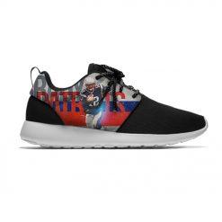 Patriots Breathable Leisure Sport Sneakers New England Football Tom Brady Fans Lightweight Casual Men Women Running 3