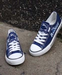 Penn State Nittany Lions Limited Low Top Canvas Shoes Sport
