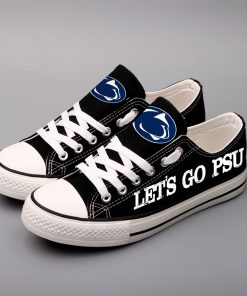 Penn State Nittany Lions Limited Fans Low Top Canvas Sneakers
