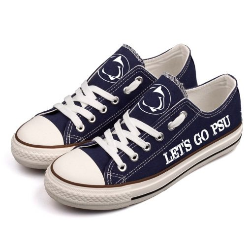 Penn State Nittany Lions Limited Fans Low Top Canvas Shoes Sport