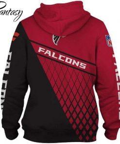 Phantasy 2020 Atlanta Falcon Rugby Football 3D Print Hoodie Long Sleeve Streetwear Cool Casual Pullovers 1