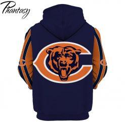 Phantasy 2020 Chicago Bears 3D Hoodie Printed Sportwear Tracksuit Hoodie Top Casual Long Sleeve Hooded Pullover 1