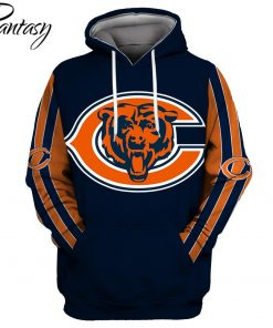 Phantasy 2020 Chicago Bears 3D Hoodie Printed Sportwear Tracksuit Hoodie Top Casual Long Sleeve Hooded Pullover