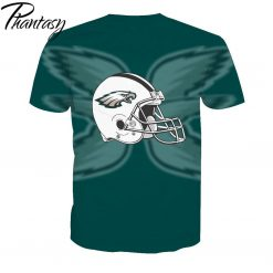 Phantasy 2020 Rugby Shirts Polyester Tops Summer Cool Funny T shirt Fashion Men Philadelphia Eagles 1