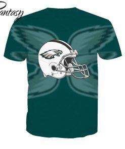 Phantasy 2020 Rugby Shirts Polyester Tops Summer Cool Funny T shirt Fashion Men Philadelphia Eagles 1