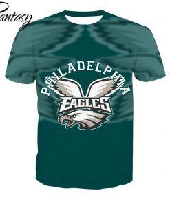 Phantasy 2020 Rugby Shirts Polyester Tops Summer Cool Funny T shirt Fashion Men Philadelphia Eagles
