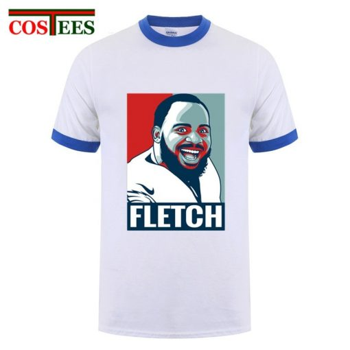 Philadelphia Foot ball T shirts men cartoon The Fletch Funny T shirt homme eagles t shirt 3