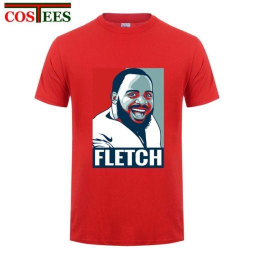 Philadelphia Foot ball T shirts men cartoon The Fletch Funny T shirt homme eagles t shirt 4
