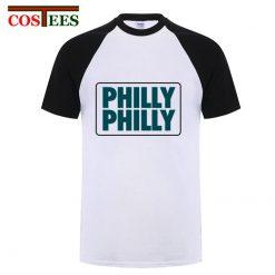 Philadelphia Philly Philly T shirt men Underdog Foot Ball Funny men s T shirt snapback eagles 2