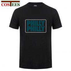 Philadelphia Philly Philly T shirt men Underdog Foot Ball Funny men s T shirt snapback eagles 3