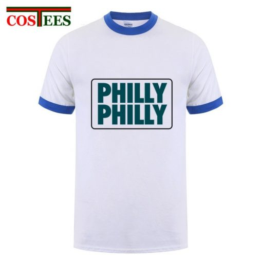 Philadelphia Philly Philly T shirt men Underdog Foot Ball Funny men s T shirt snapback eagles