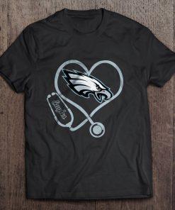 Philadelphia Print T Shirt Short Sleeve O Neck Eagle Stethoscope Tshirts