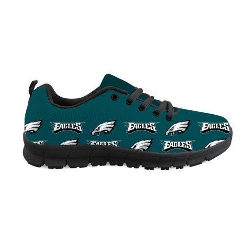 Philadelphia Eagles Custom 3D Running Sneakers