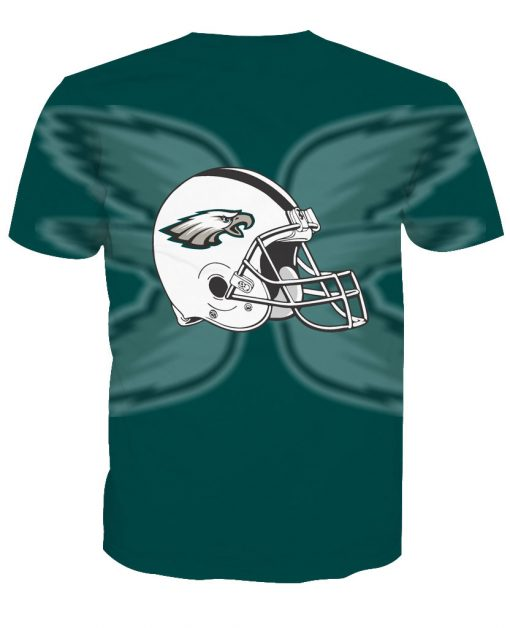 Philadelphia Eagles Football Fans Casual T-shirt