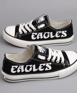 Philadelphia Eagles Limited Low Top Canvas Sneakers