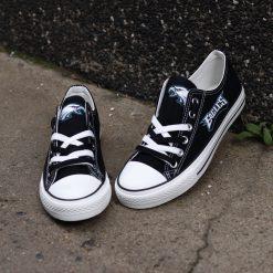 Philadelphia Eagles Limited Low Top Canvas Shoes Sport