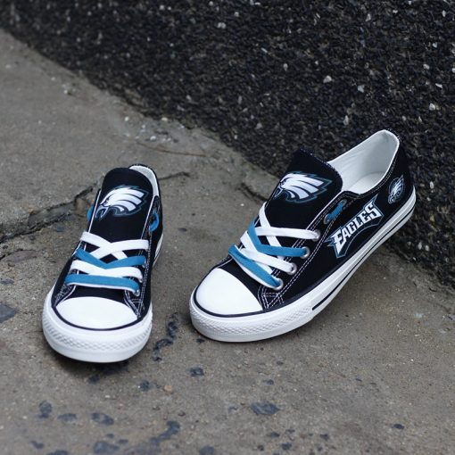 Philadelphia Eagles Limited Fans Low Top Canvas Sneakers