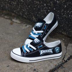 Philadelphia Eagles Low Top Canvas Shoe Sport