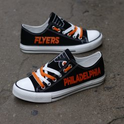 Philadelphia Flyers Limited Low Top Canvas Sneakers