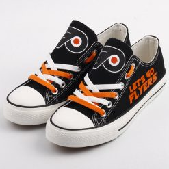 Philadelphia Flyers Limited Low Top Canvas Shoes Sport