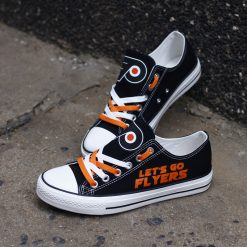 Philadelphia Flyers Limited Low Top Canvas Shoes Sport