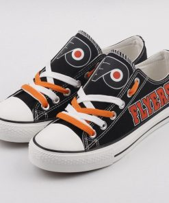 Philadelphia Flyers Low Top Canvas Shoes Sport