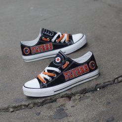 Philadelphia Flyers Low Top Canvas Shoes Sport