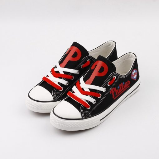 Philadelphia Phillies Limited Low Top Canvas Sneakers