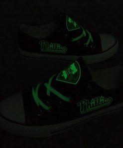 Philadelphia Phillies Limited Luminous Low Top Canvas Sneakers