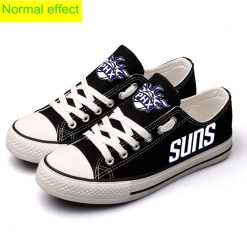 Phoenix Suns Limited Fans Luminous Low Top Canvas Sneakers