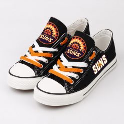 Phoenix Suns Low Top Canvas Shoes Sport