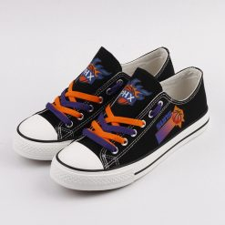 Phoenix Suns Low Top Canvas Sneakers