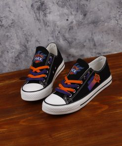 Phoenix Suns Low Top Canvas Sneakers